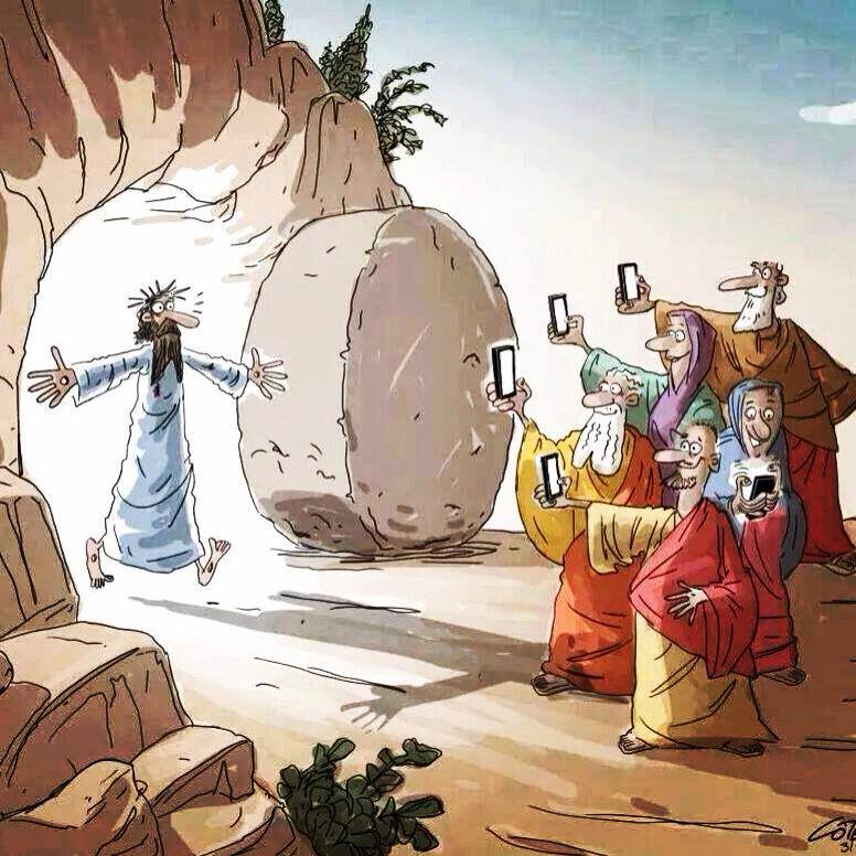 Auguri di Pasqua social
