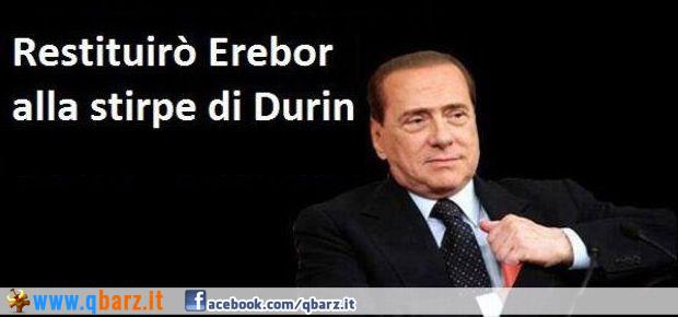 Berlusconi e il Signore degli Anelli