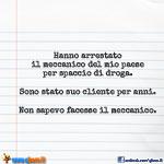 Meccanico arrestato
