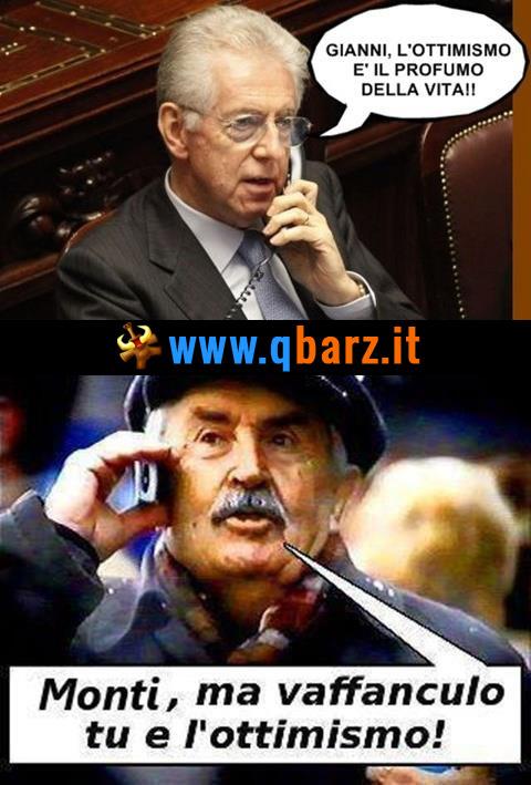Mario Monti telefona a Tonino Guerra