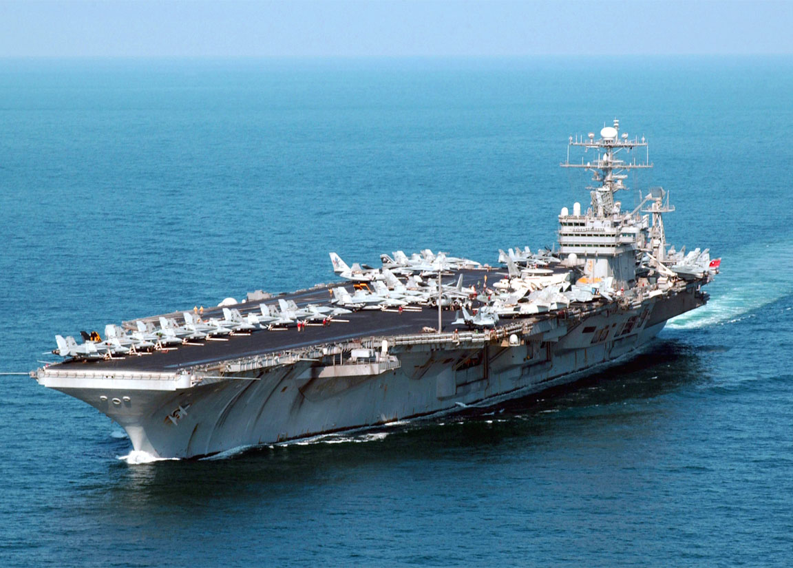 Grandi navi americane barzelletta - Nave portaerei ...
