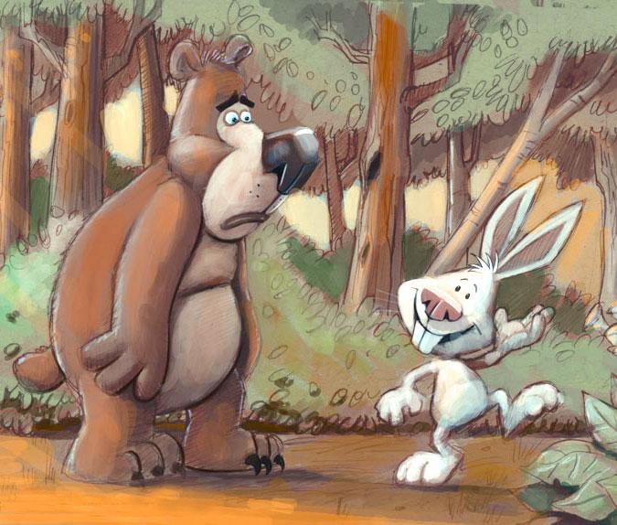 L'orso e il coniglio