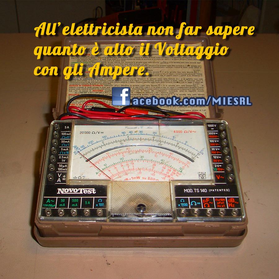 Il proverbio dell'elettricista
