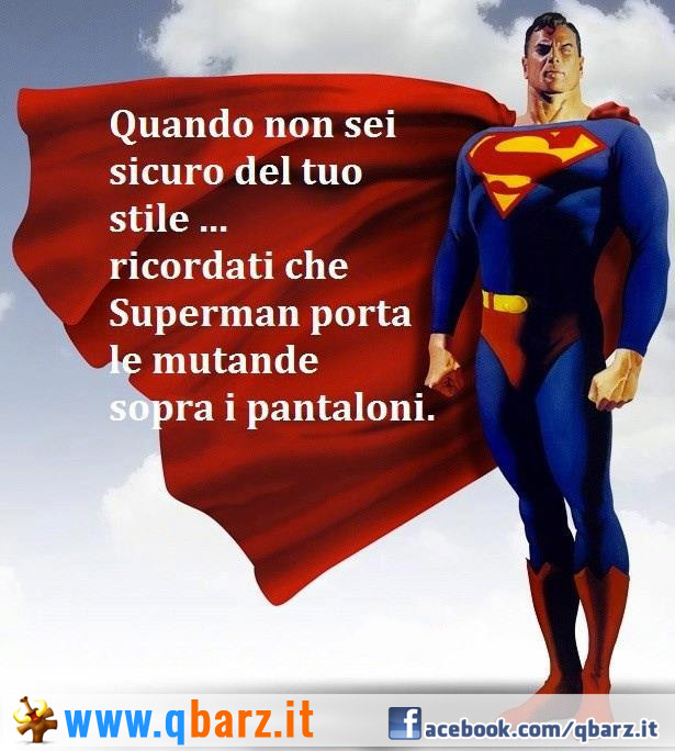 Lo stile di Superman