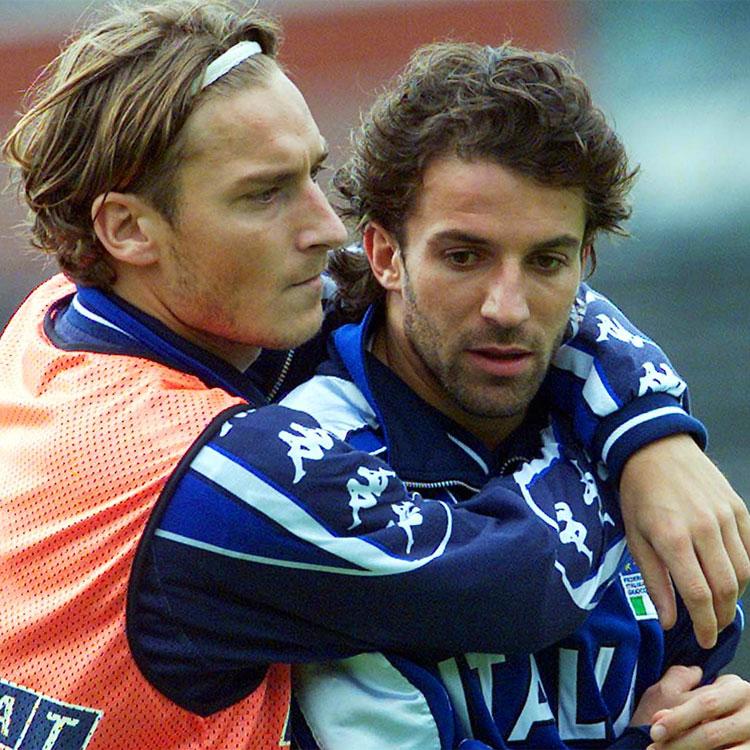 Una scommessa tra Del Piero e Totti
