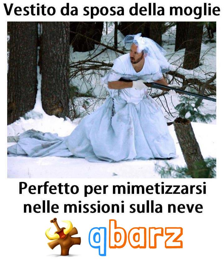 Vestito da sposa della moglie