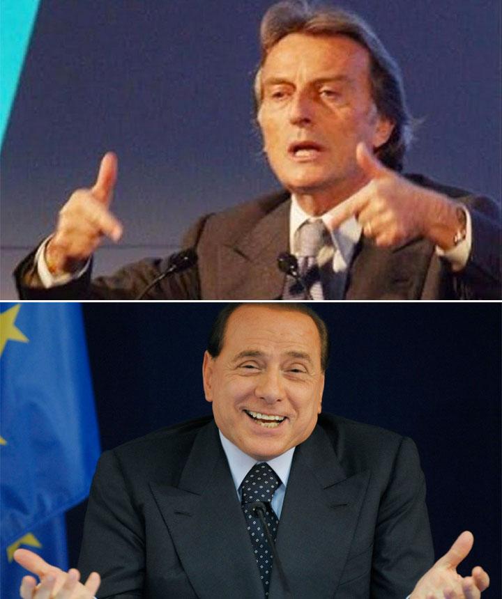 Montezemolo e Berlusconi