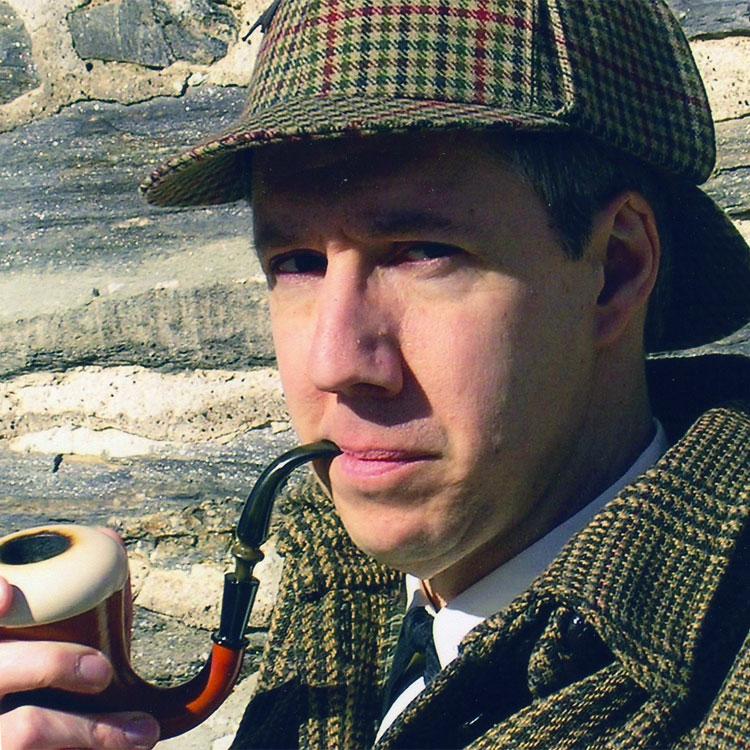 Sherlock Holmes in campeggio