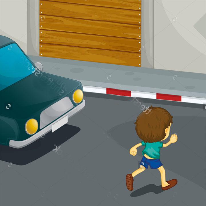 Bambino investito da un'auto