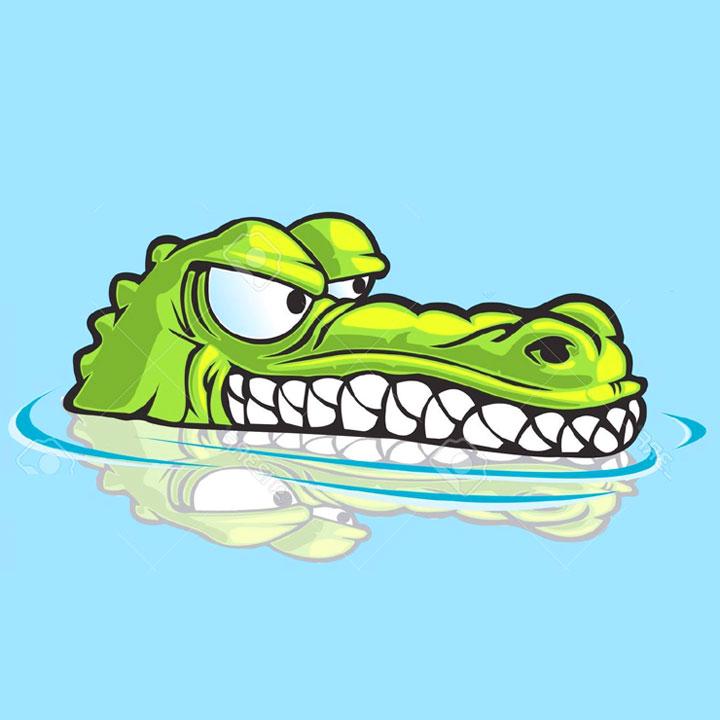 Nuotare in mezzo ai coccodrilli