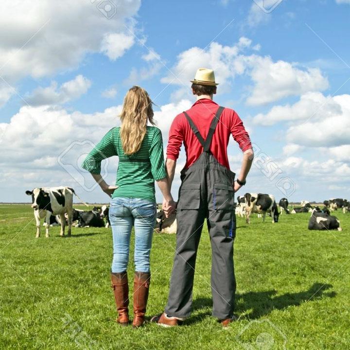 Il contadino e la sua signora