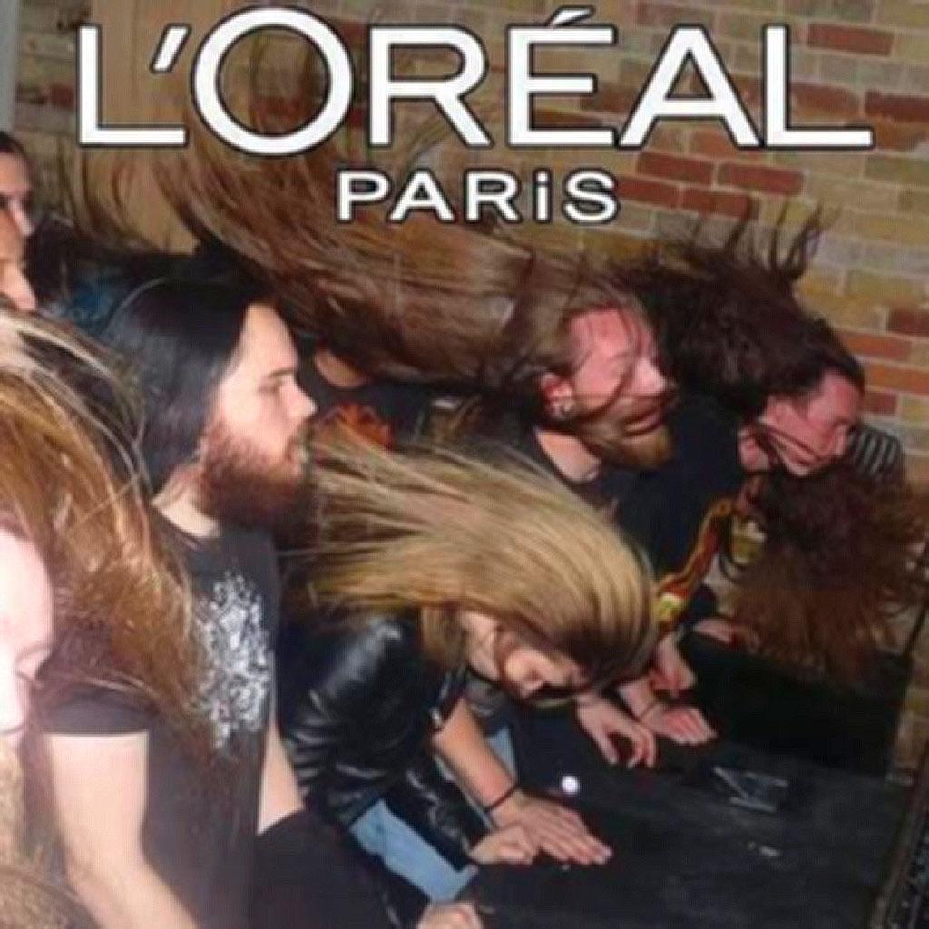 L'Oreal Paris: versione Heavy Metal