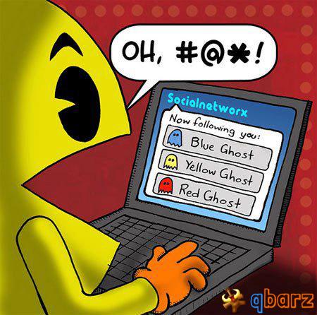 Pac-Man e i social network