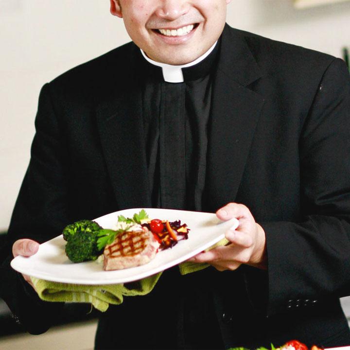 Preti e rabbini al ristorante