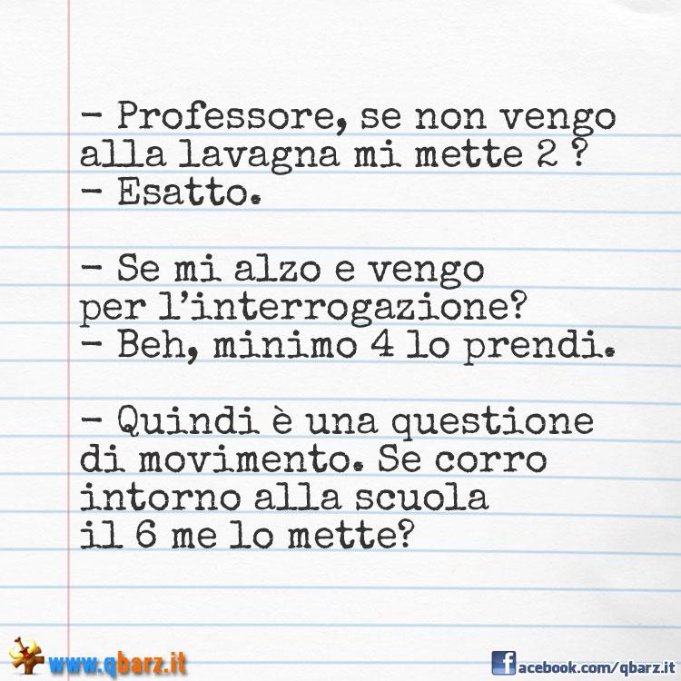 Interrogazione a scuola