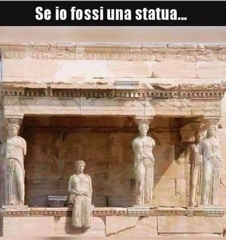 Se io fossi una statua