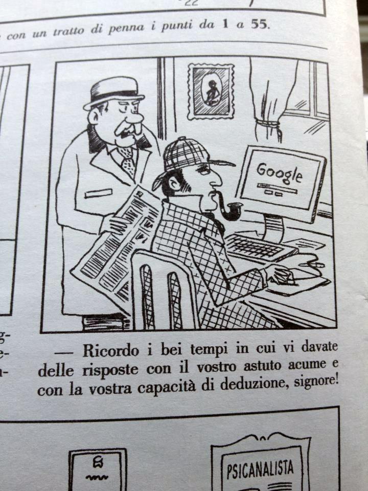 La Settimana Enigmistica - Una vignetta divertente