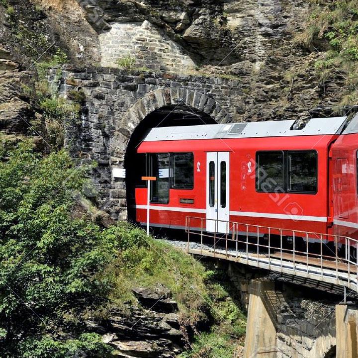 Il treno e il tunnel