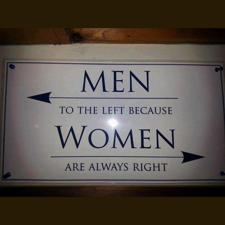 Uomini a sinistra